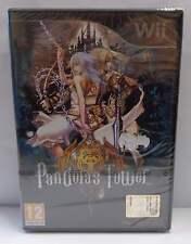 Console Game Gioco NINTENDO WII Play PAL ITALIANO - PANDORA'S TOWER - RPG ITA -