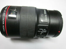 CANON MACRO LENS EF 100MM  1:2.8 L IS USM ULTRASONIC   TESTED MADE IN JAPAN