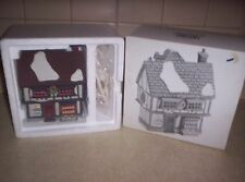 Tutbury Printer Dept 56 Ceramic Dickens Village Ret'd 1996