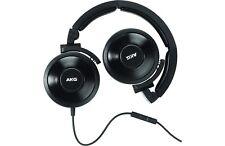 AKG K619BLK Premium DJ Headphones with In-Line Remote and Microphone| Black