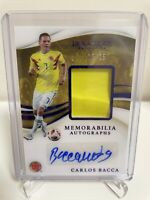 2020 Immaculate Soccer COLUMBIA CARLOS BACCA PATCH AUTO SAPPHIRE 25/25