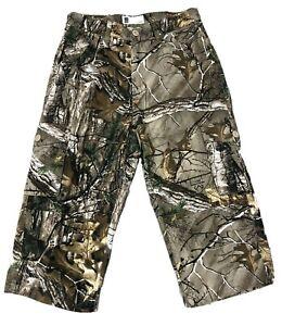 Men's Realtree Jungle Cargo Combat 3/4 Long Shorts Hunting Fishing Camouflage