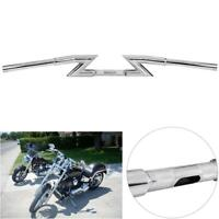 1'' Drag Z Bar Motorcycle Handlebar For Honda Shadow VT VT1100 VT750 VT600 VF750