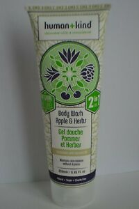 Human + Kind 2-in-1 Body Wash Apple & Herbs with coconut oil 250ml RRP £7.95
