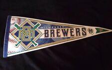Milwaukee Brewers Baseball Pennant 1999 Major League Baseball Wincraft Sports