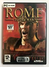Rome: Total War (PC: Windows, 2004) 3-Discs, Activision, Free UK Post, Very Good