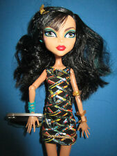 B513-Barbie Monster High Cleo de Nile Mattel Original-Vêtements + Chaussures + Sac