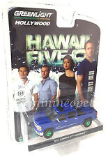 GREENLIGHT 44760 E HAWAII FIVE O 2014 CHEVY SILVERADO 1/64 CHASE GREEN MACHINE