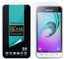 TechFilm® Tempered Glass Screen Protector Saver For Samsung Galaxy J1 (2016)