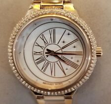 Michael Kors MK6551 Ladies Watch with 40mm Perl Face & Rose Gold Breclet