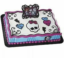 DecoPac Monster High (Black) * Cake Topper Decoration * NIP