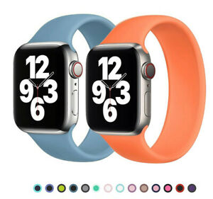 iWatch Band Solo Bracelet Loop Elastic Strap for Apple Watch 6 5 4 3 2 SE