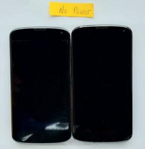 LG Nexus 4 E960 Smartphone as is parts lot of 2 #2
