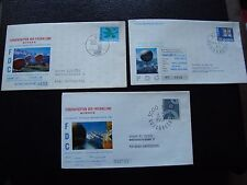 SUISSE - 3 enveloppes 1er jour 1963/1965/1967 (europa) (cy90) switzerland