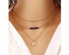 Glitz Fashion Multilayer Chain Tree Pendant Body Chain Necklaces For Women