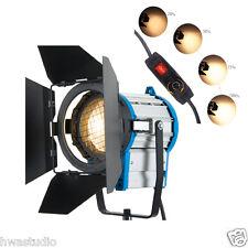 FS1000 per film 1000W illuminazione Fresnel Tungsteno Spot Light Studio Video + LAMPADINA + BARRA
