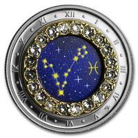 2019 Canada 1/4 oz Silver $5 Zodiac Series (Pisces) - SKU#185330