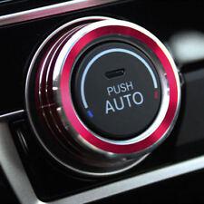 2x Aluminum Ring Knob Trim Cover For 2016 2018 Honda Civic Sedan Hatchback new