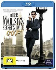 ON HER MAJESTY'S SECRET SERVICE BLU RAY - NEW & SEALED JAMES BOND 007 LAZENBY