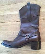 45821357769 Franco Sarto Block Leather Motorcycle Boots for Women for sale | eBay