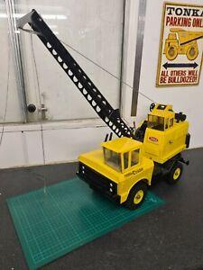 Mighty Tonka crane vintage tonka
