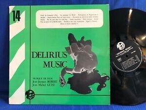 ROBERT GUISE DELIRIUS MUSIC MP 14 ORIGINAL FRANCE LP NEAR MINT