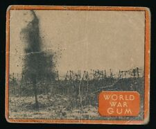 1934 V360 (like R174) World Wide Gum Co WORLD WAR GUM -#29 Cutting War