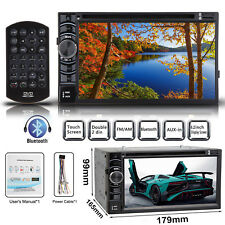 2Din Car Stereo DVD CD TouchScreen 6.2