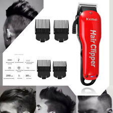 Kemei Rechargeable Hair Clipper Wireless Trimmer Electric Haircut Tool Mens Gift