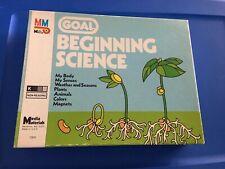 Media Materials Goal Beginning Science Lesson Plan Educational Materials Vintage