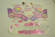 "14"" RALEIGH MOLLY DECAL TRANSFER SET,STICKER PACK SUIT GIRLIE BIKES WTFRM14"
