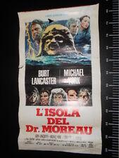 ★ Manifesto L'ISOLA DEL DR MOREAU Vintage Locandina Poster Playbill ★
