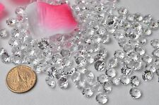 2,000pcs 10mm Acrylic Clear Beads Confetti Wedding Reception Table Decorations