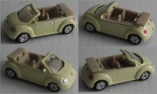 Maisto – VW New Beetle Cabrio pastellgelb