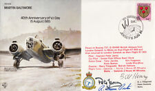 40th Anniv VJ - Day.Signed W Henry &  R Bruce  Porter WW11 USA Fighter Aces  15