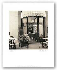 PHOTO ART PRINT Caffe Umbria by Alan Blaustein