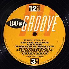 12 Inch Dance: 80's Groove (2014, CD NIEUW)3 DISC SET