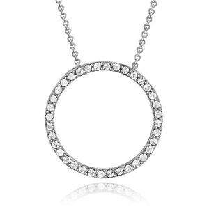 Eternity Necklace Made with Swarovski Elements