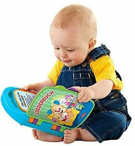 Ab 6 Monate Baby Fisher Price Lernspaß Liederbuch Buchstaben Zahlen Farben