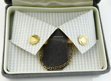 Collar Chain with Pins Goldtone New Old Stock NOS
