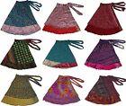 "Wholesale Pack Of 10 Boho Gypsy Wrap Skirts 36"""