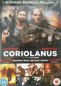 Coriolanus DVD 2011 Slavko Stimac John Kani War Action Movie James Nesbitt