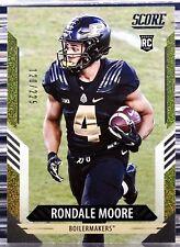 2021 Score Rondale Moore #329 RC Gold Dots /225 SP Rookie Cardinals 49th Pick
