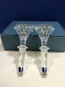 Marquis by Waterford Crystal Blown Glass Brookside Wine Stoppers New in Box