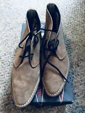 Vintage 1960's Ivy League Women's Choco Late Malt Suede Boots/Shoes Size 6.5 B