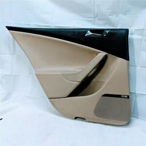 2006-2010 VW Volkswagen Passat B6 Sedan LH Driver Rear Door Panel Beige w Black
