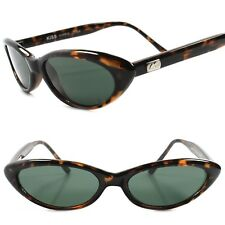 Genuine Vintage Deadstock 80s Style Tortoise Rockabilly Small Cat Eye Sunglasses