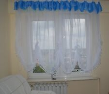 Amazing Ready Made White Voile Net Curtain Fashion style  SALE!