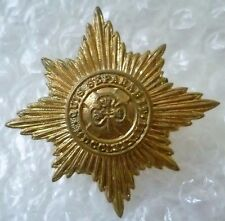 Badge- Royal Irish Guard Cap Badge (All BRASS)