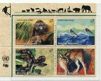 19430H) UNITED NATIONS (Vienna) 1999 MNH** Nuovi** Wild animals